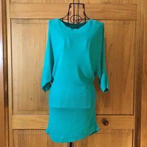 New York & Company ~ Green Long Sleeve Sweater